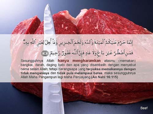 Beberapa Istilah Produk Makanan Yang Mengandung Daging Babi