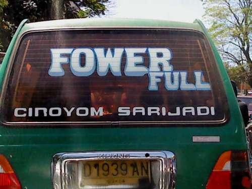 fower full