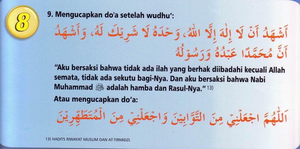 Tata Cara Wudhu Dan Tayamum Muhammadiyah