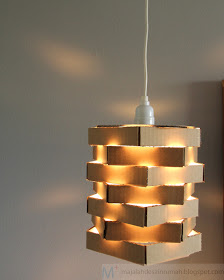 om h ilmoe 6 model kap lampu unik dari bahan bekas